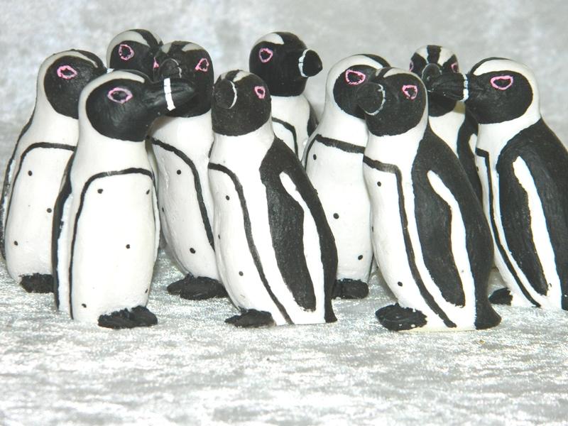 Statue Penguin CodeP012 Size7cm