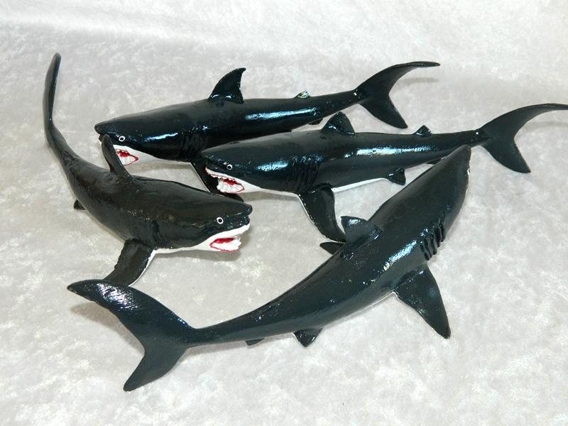Statue Shark 6X22 CodeST013